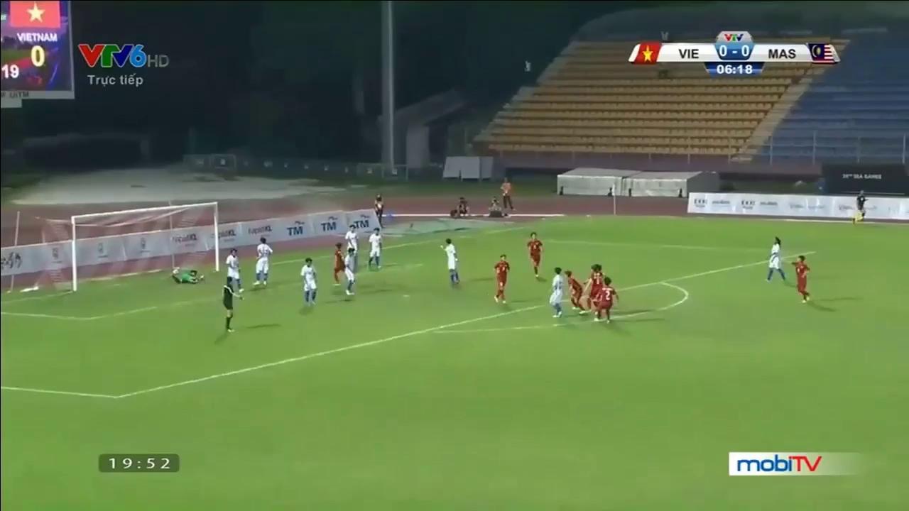 Bóng đá nữ SEA Games 29: Việt Nam 6-0 Malaysia