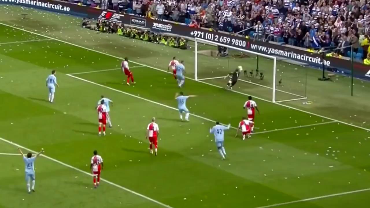 Premier League 2011/12: Man City 3-2 QPR