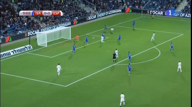 Nhìn lại trận đấu Israel - Tây Ban Nha (vòng loại World Cup 2018)