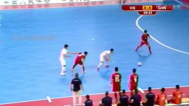 Bàn thắng quyết định của ĐT futsal Việt Nam trước Trung Quốc