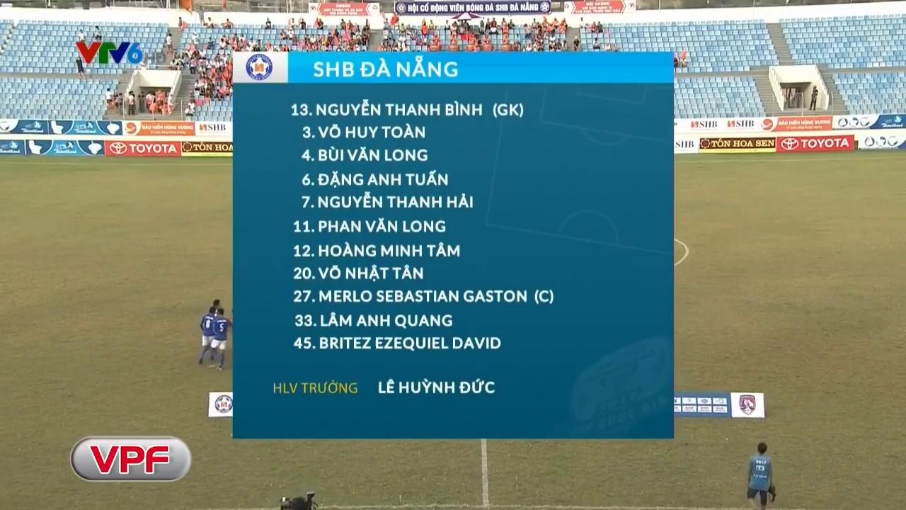 Cúp Quốc gia 2017: Đà Nẵng 1-1 Than Quảng Ninh