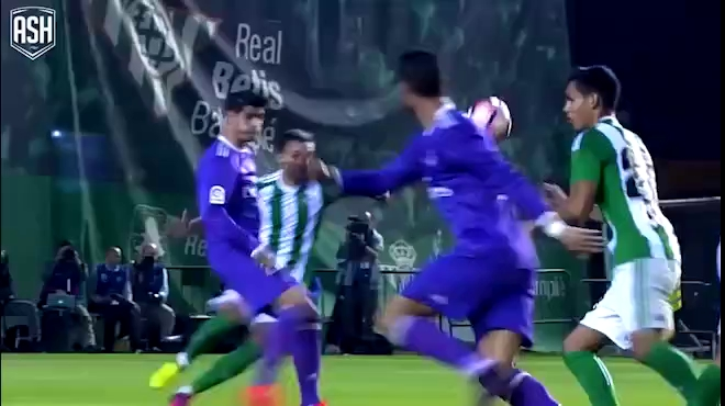 Các bàn thắng của Ronaldo ở La Liga mùa 2016/17