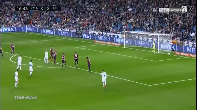 Video màn trình diễn của Ronaldo trước Eibar