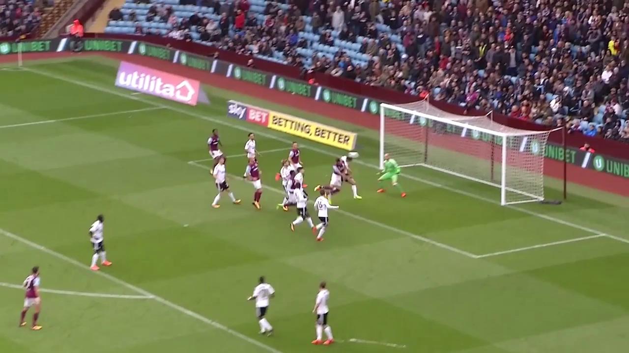 Terry ghi bàn cho Aston Villa