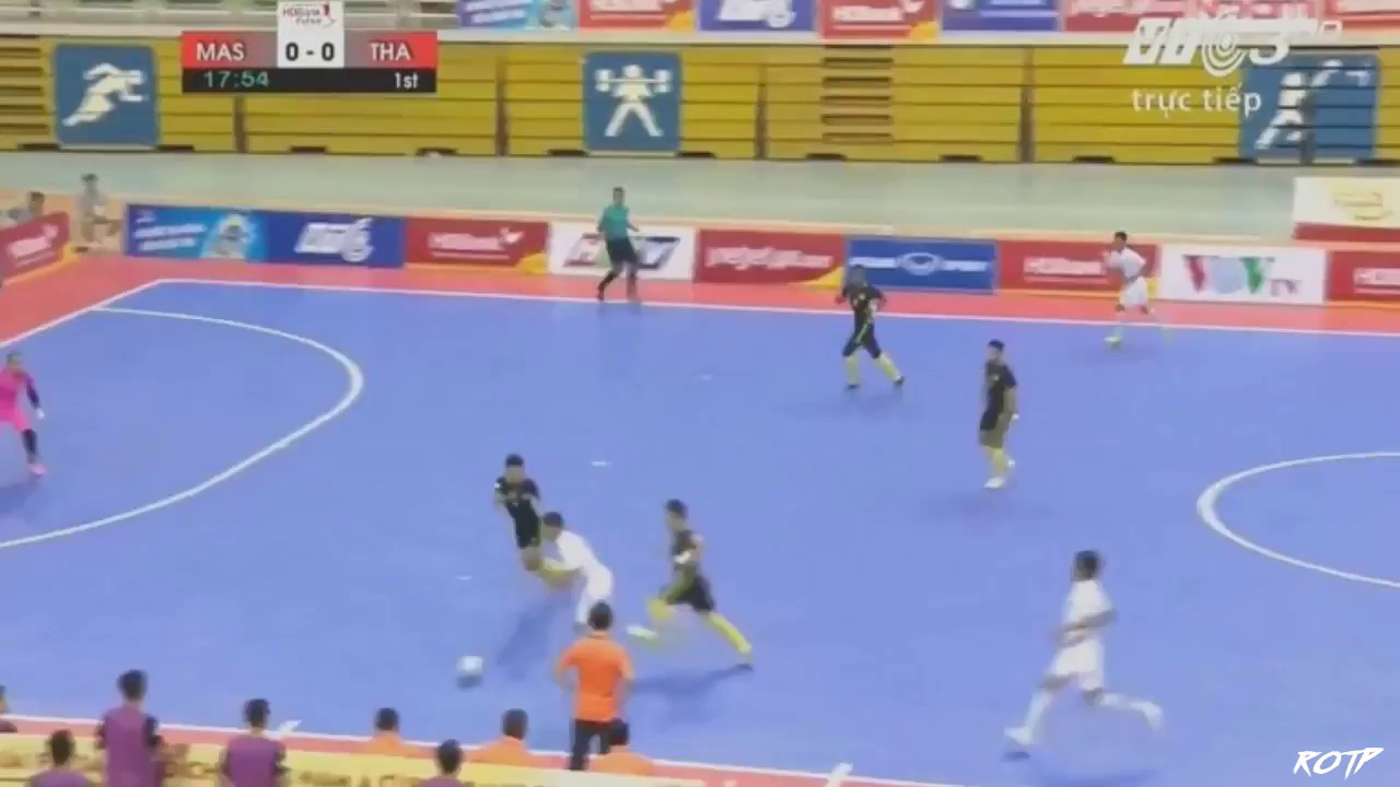 Chung kết futsal Đông Nam Á 2017: Thái Lan 4-3 Malaysia