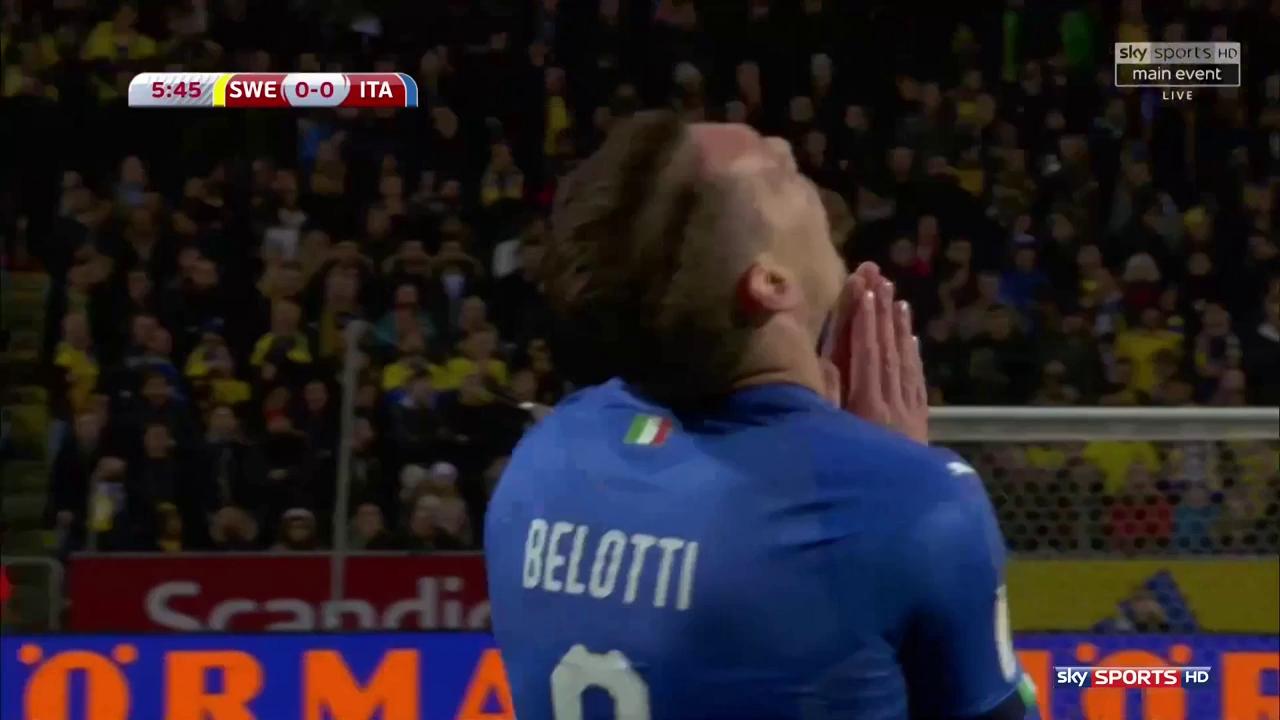 Vòng loại World Cup 2018: Thụy Điển 1-0 Italia