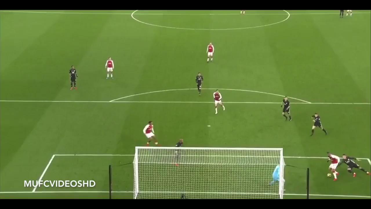 Màn trình diễn của De Gea trước Arsenal