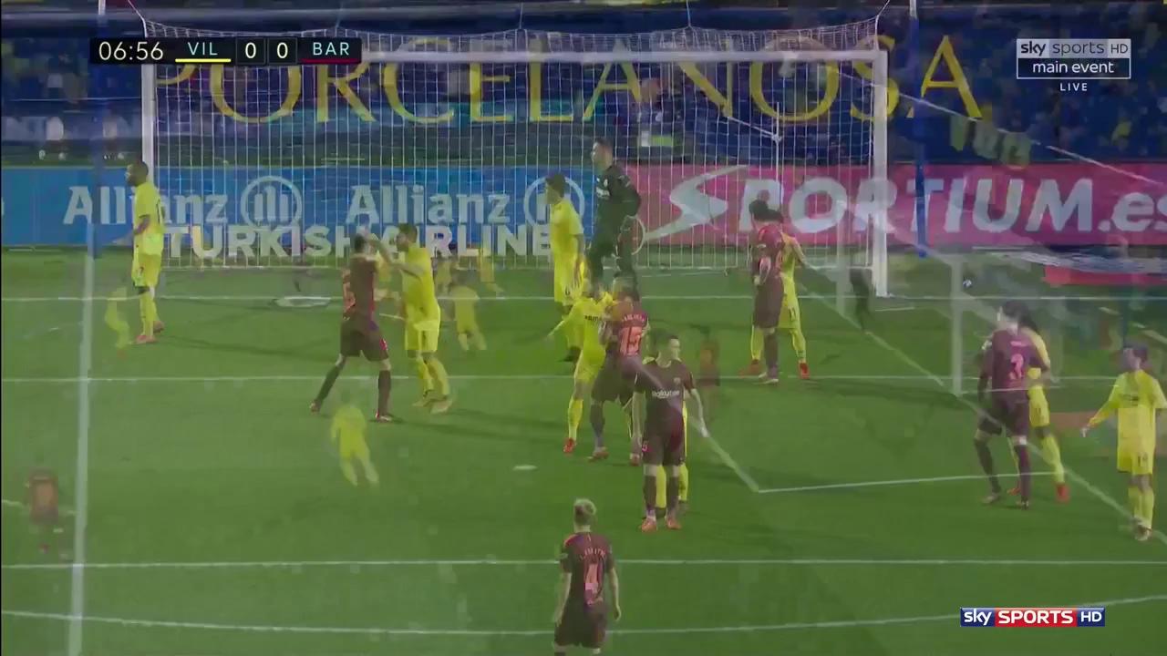 Vòng 15 La Liga: Villarreal 0-2 Barcelona