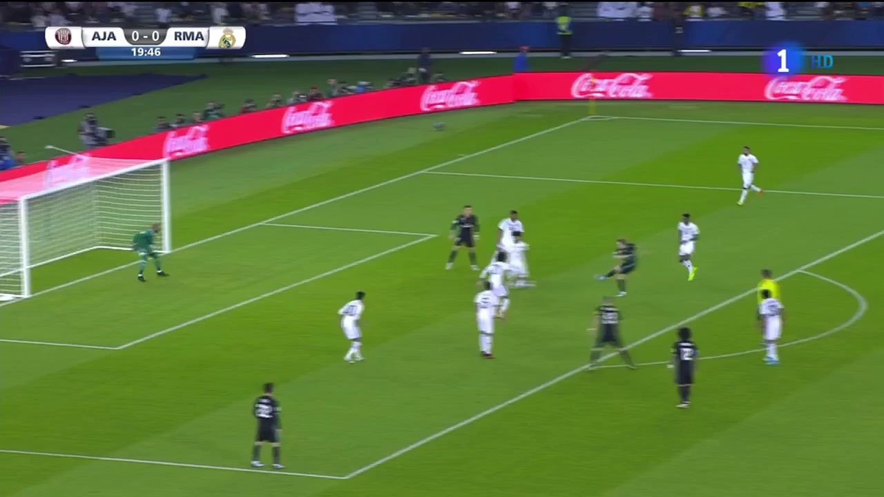 Bán kết FIFA Club World Cup 2017: Real Madrid 2-1 Al Jazira