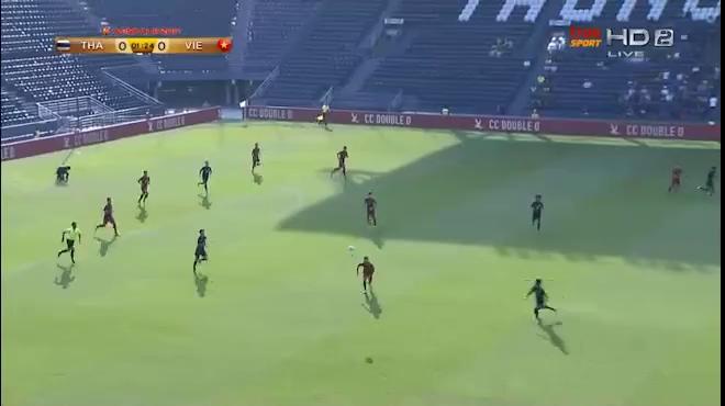 Các sai lầm của hàng thủ U23 Việt Nam trước U23 Thái Lan
