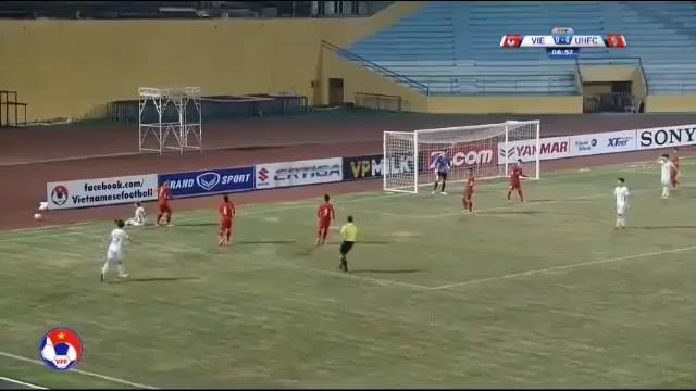 U23 Việt Nam 2-3 Ulsan Hyundai