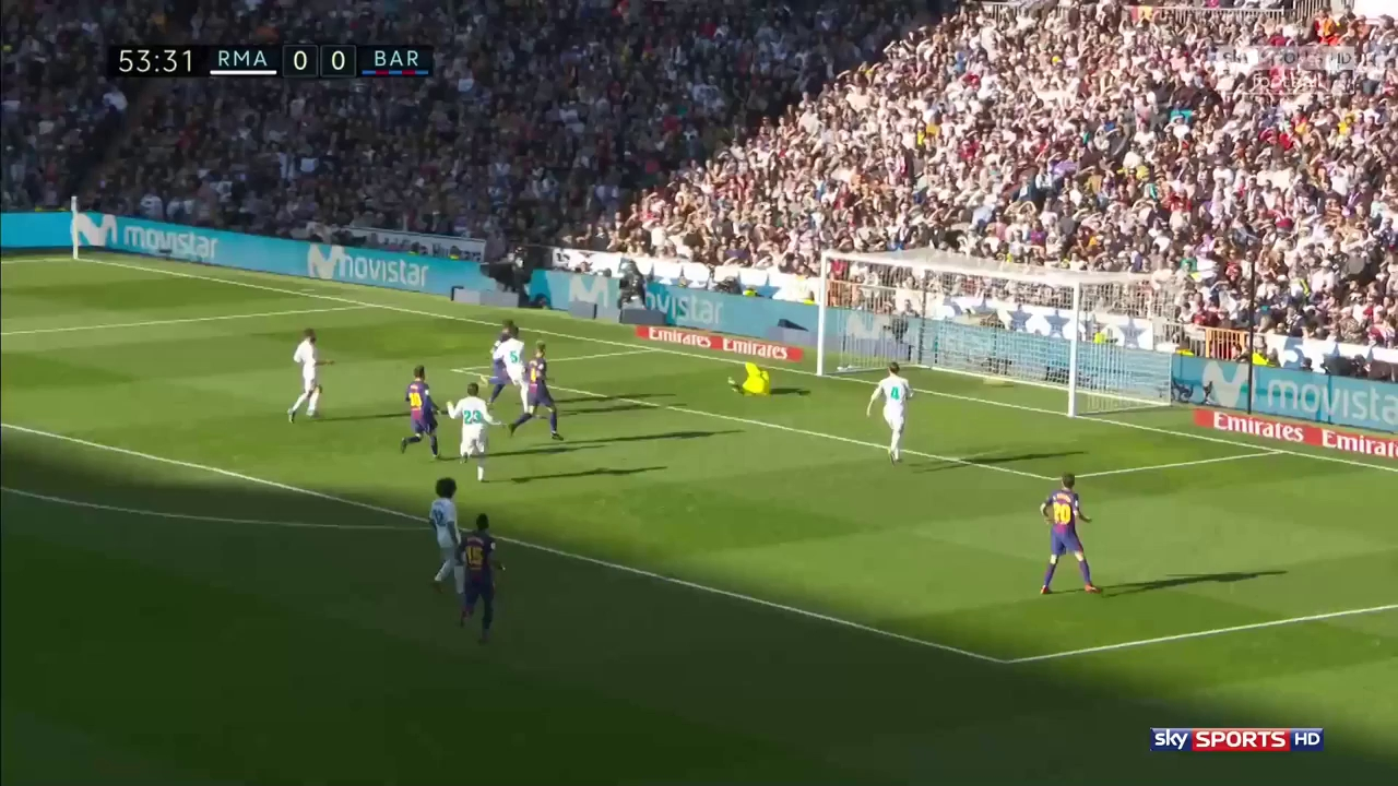 Clip Real Madrid 0-3 Barcelona