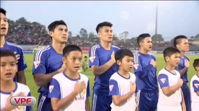 Thanh Trung tỏa sáng đưa Quảng Nam lần đầu tiên vô địch V-League