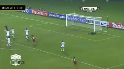 Video: Tuấn Anh ghi bàn đẹp mắt ở VCK U23 châu Á 2016