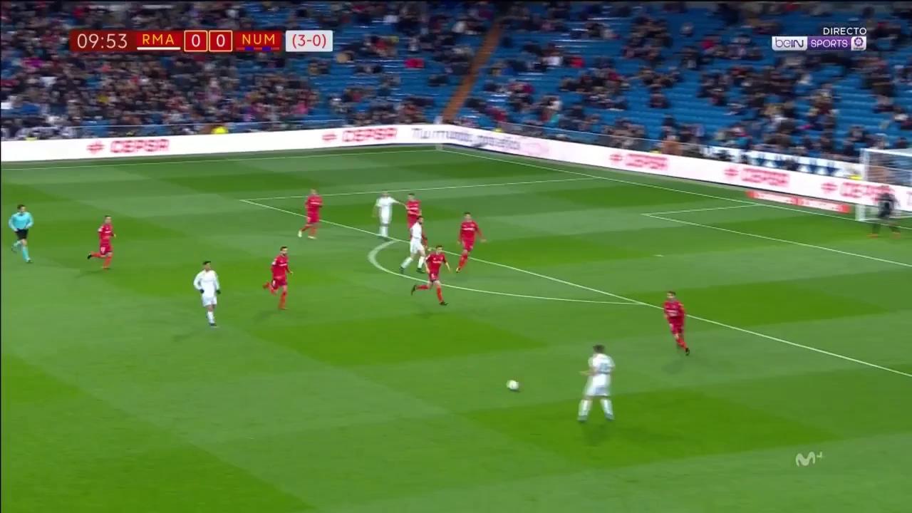 Cúp Nhà vua: Real Madrid 2-2 Numancia