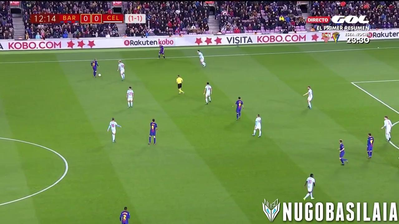 Vòng 1/8 Cúp Nhà vua 2017/18: Barcelona 5-0 Celta Vigo