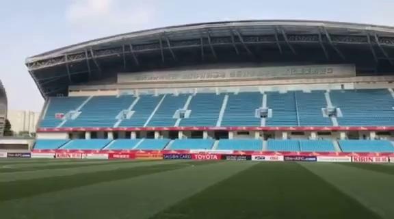 Mục kích sân đấu của đại chiến U23 Việt Nam vs U23 Qatar