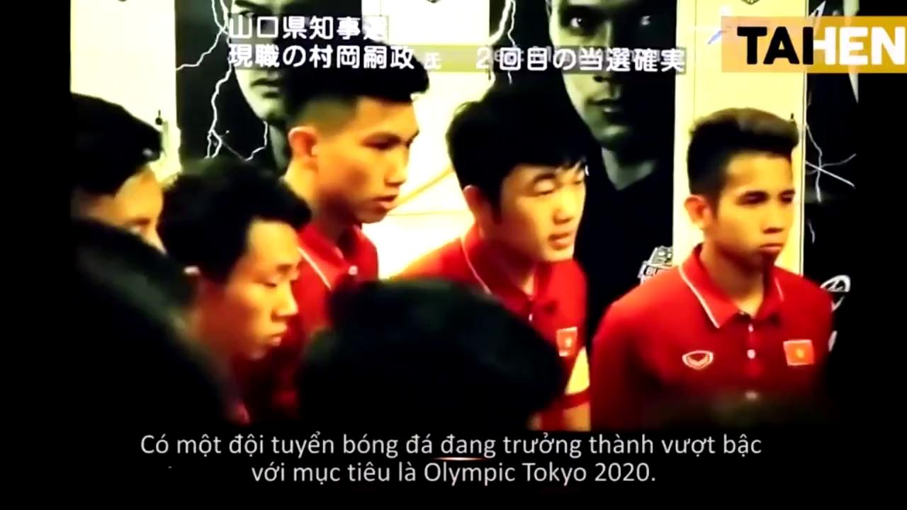 Đoạn mở đầu trong phóng sự của NHK về U23 Việt Nam