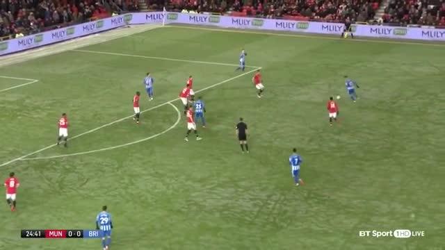 Tứ kết FA Cup: Man United 2-0 Brighton