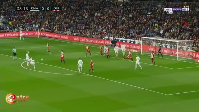 Vòng 29 La Liga: Real Madrid 6-3 Girona