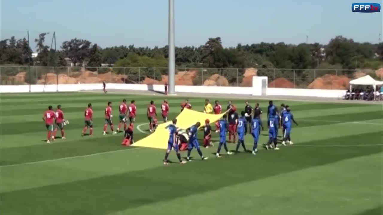 U19 Morocco 3-2 U19 Pháp