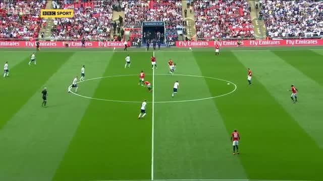 Bán kết FA Cup: Man United 2-1 Tottenham