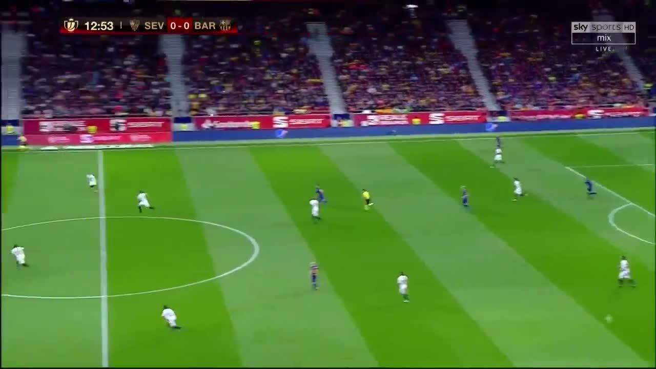 Chung kết Cúp Nhà vua 2017/18: Barcelona 5-0 Sevilla