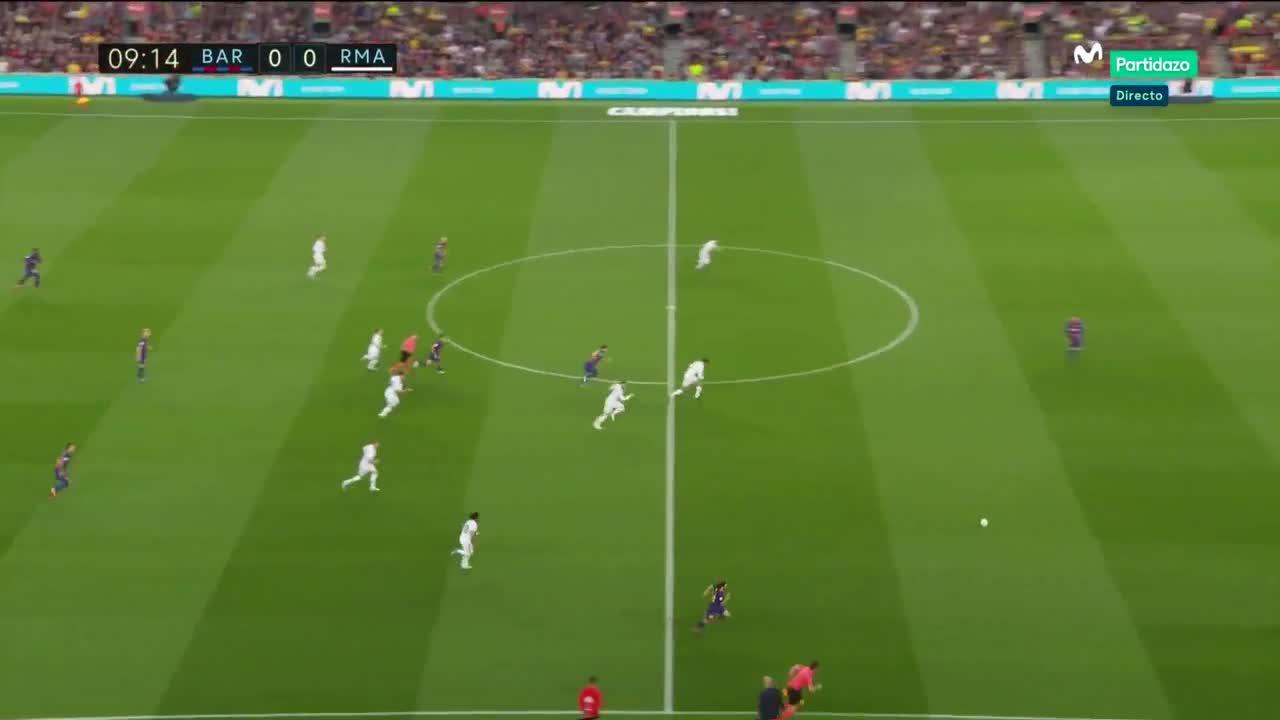 Vòng 36 La Liga: Barcelona 2-2 Real Madrid