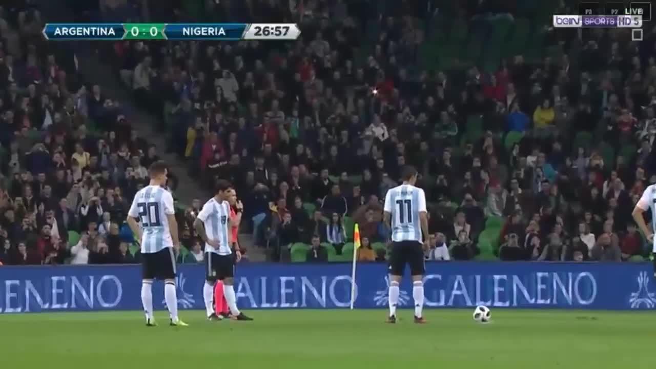 Giao hữu casino o viet nam: Nigeria 4-2 Argentina