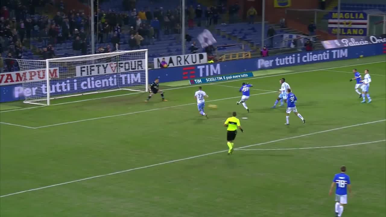 Bàn thắng của Vecino giúp Inter Milan giành vé dự Champions League 2018/19