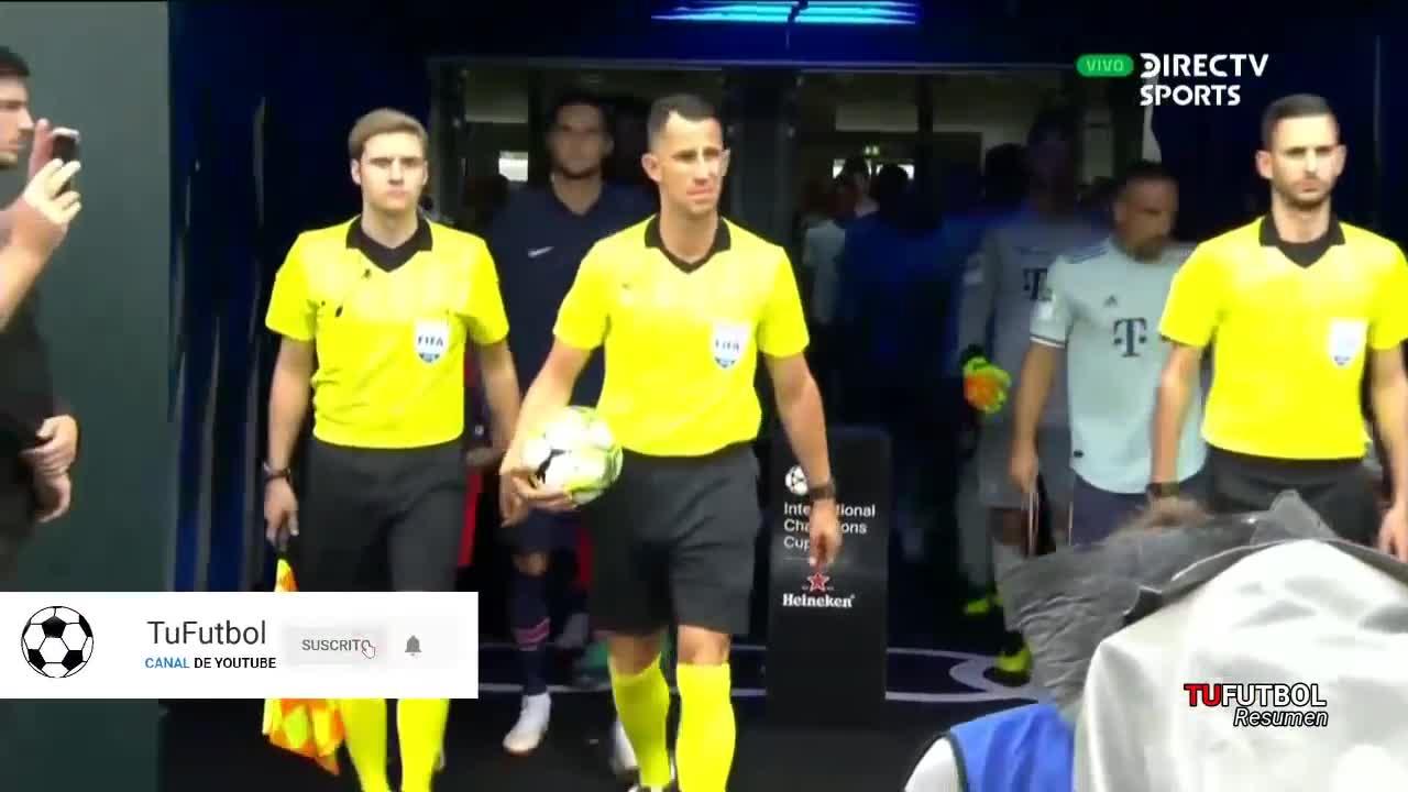 Giao hữu: Bayern 3-1 PSG