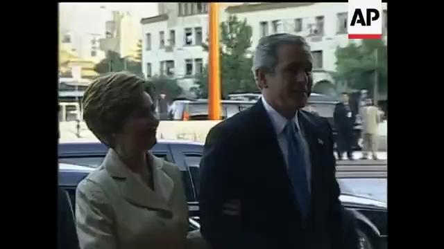 [VIDEO] Mật vụ Mỹ xô xát với an ninh Chile khi hộ tống tổng thống George W. Bush