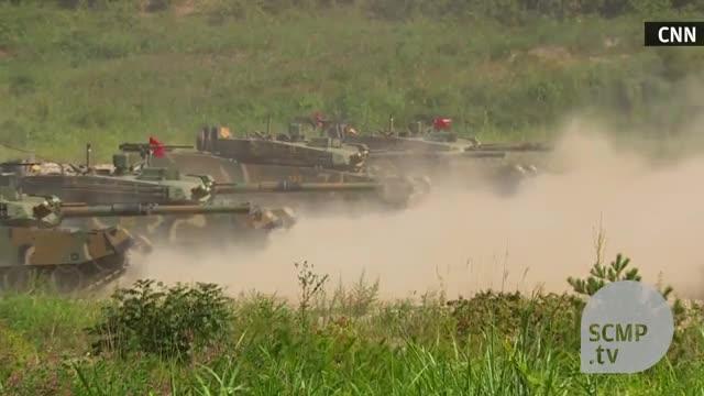 Quân đội Mỹ-Hàn Quốc tập trận chung tháng 9/2017