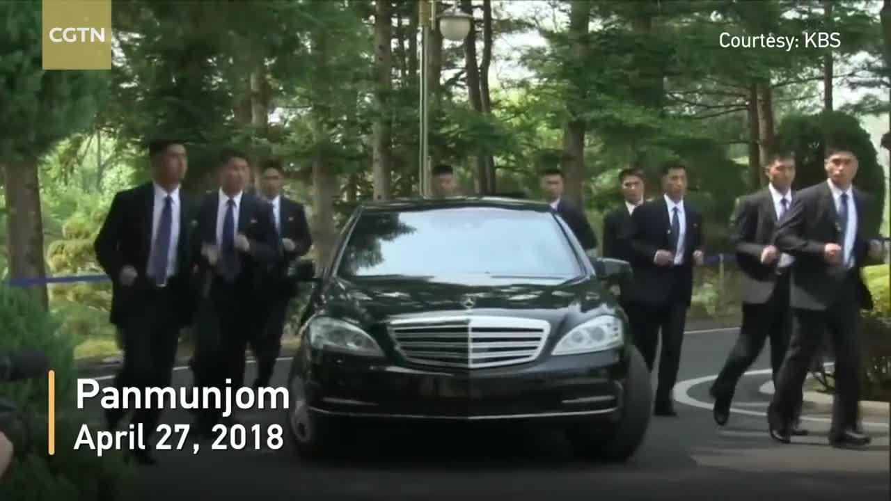 Đội vệ sĩ của ông Kim Jong-un