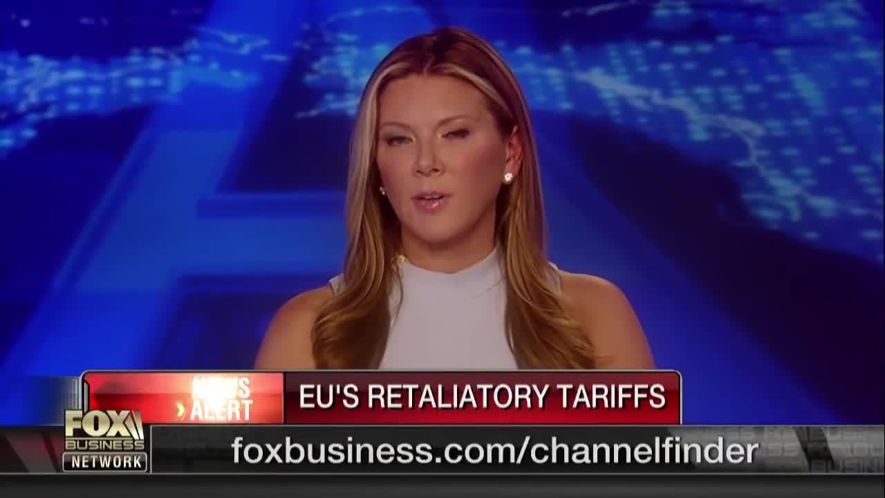 EU quyết định tăng thuế đối với nhiều mặt hàng của Mỹ để trả đũa ông Trump