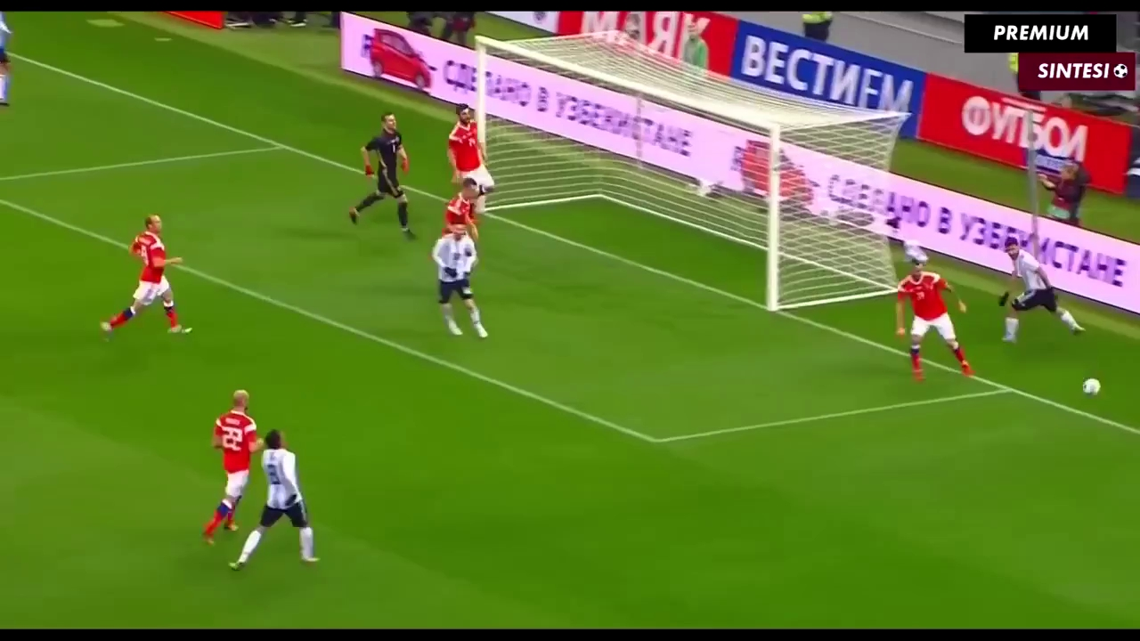 Giao hữu: Nga 0-1 Argentina