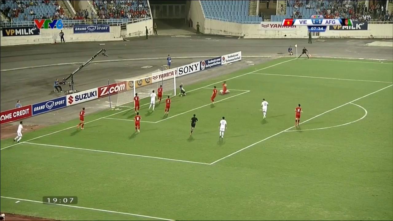 Vòng loại Asian Cup 2019: Việt Nam 0-0 Afghanistan