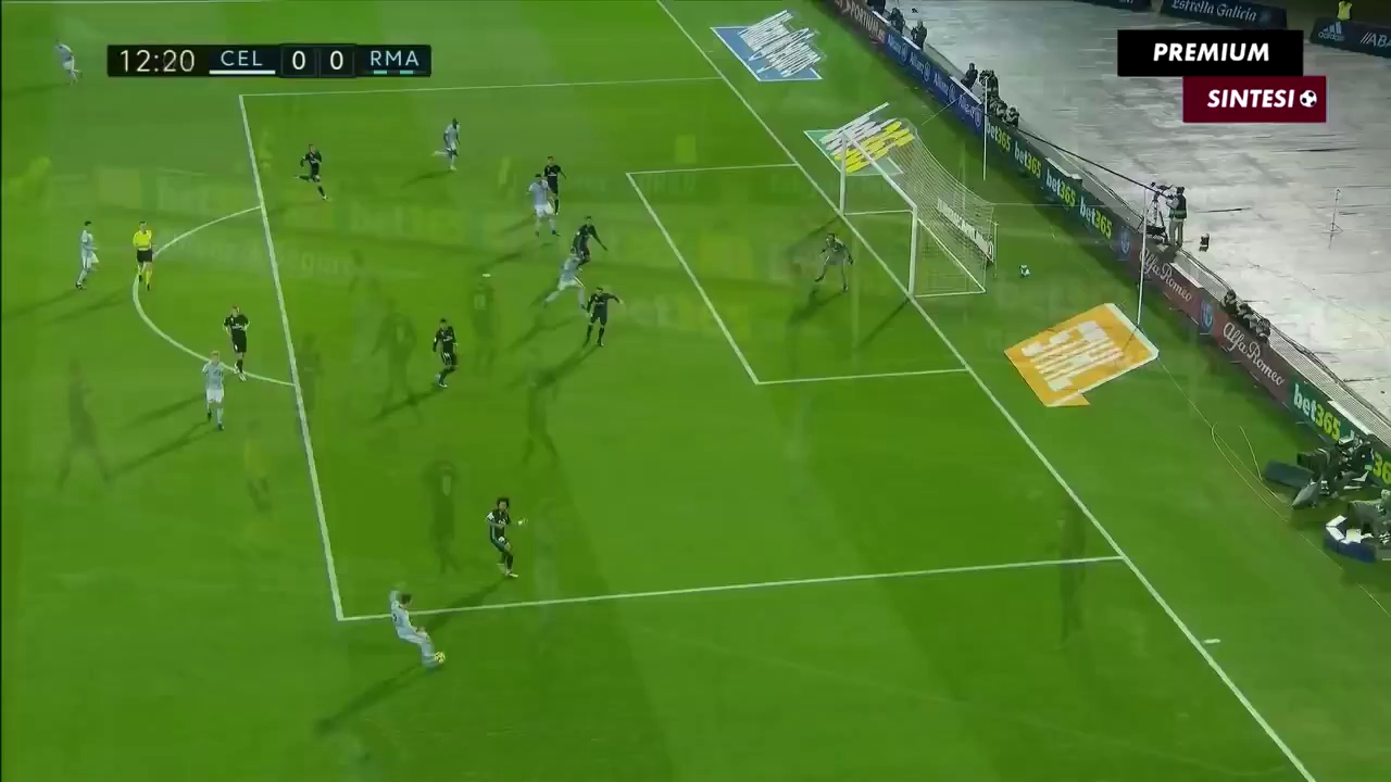 Vòng 18 La Liga: Celta Vigo 2-2 Real Madrid
