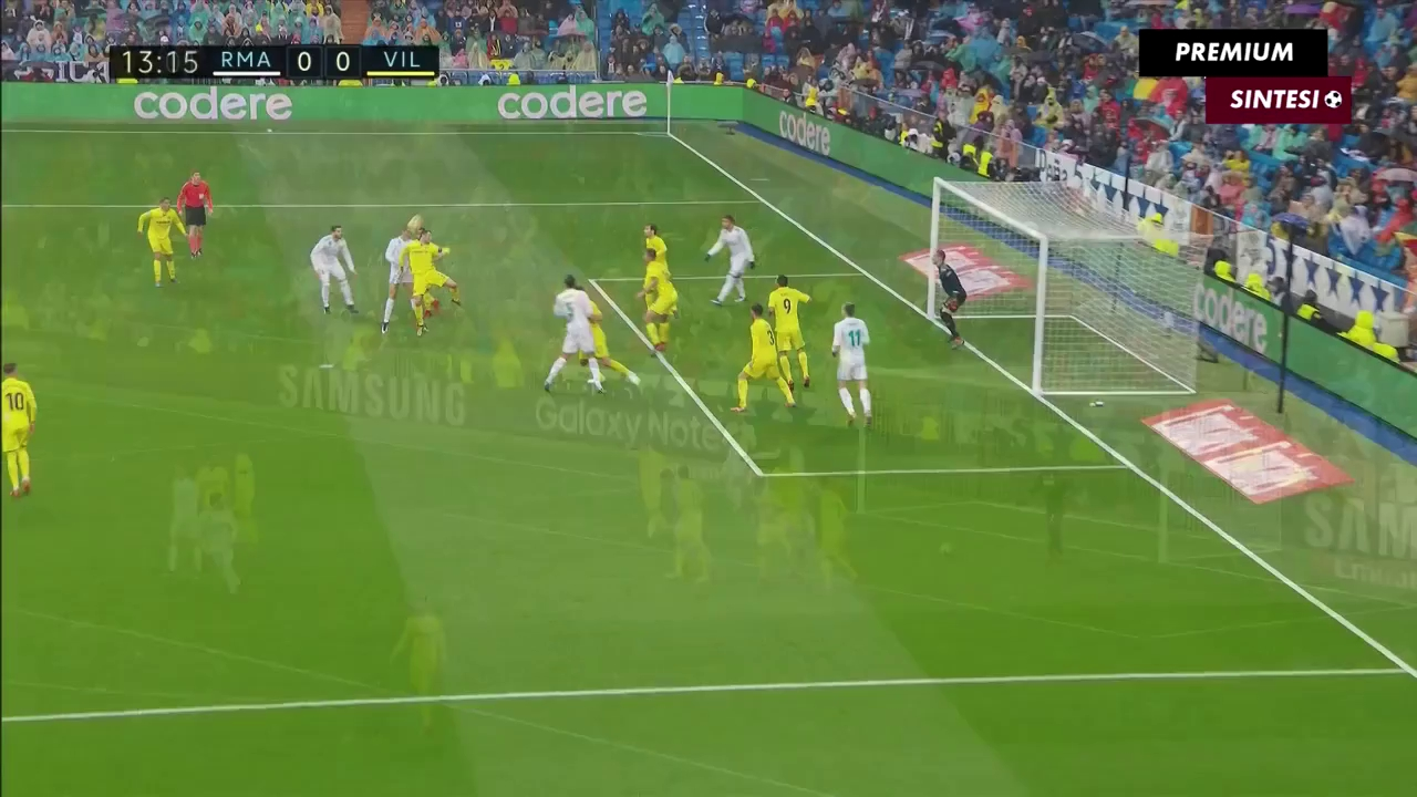 Vòng 19 La Liga: Real Madrid 0-1 Villarreal