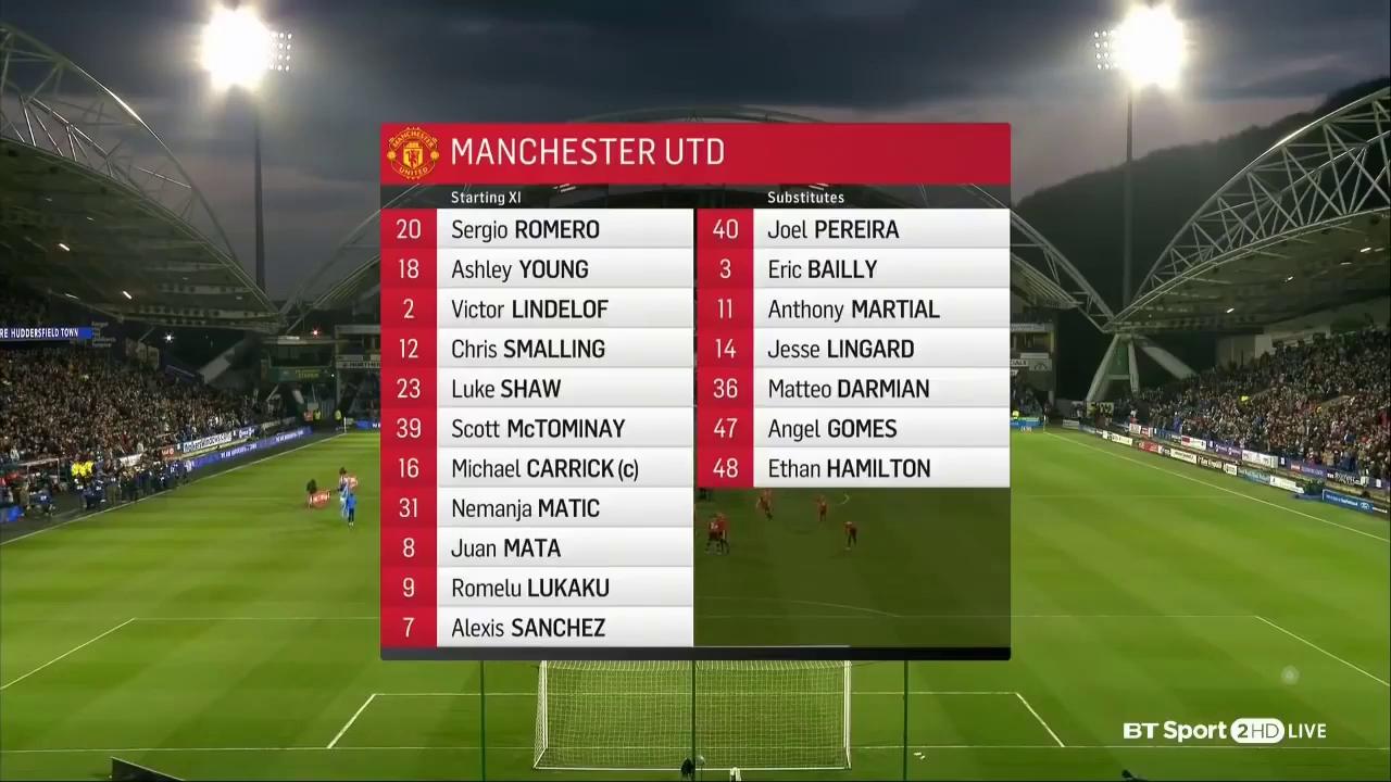 FA Cup: Huddersfield 0-2 Man United
