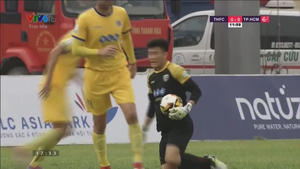 Vòng 2 V.League 2018: Thanh Hóa 1-0 TP.HCM