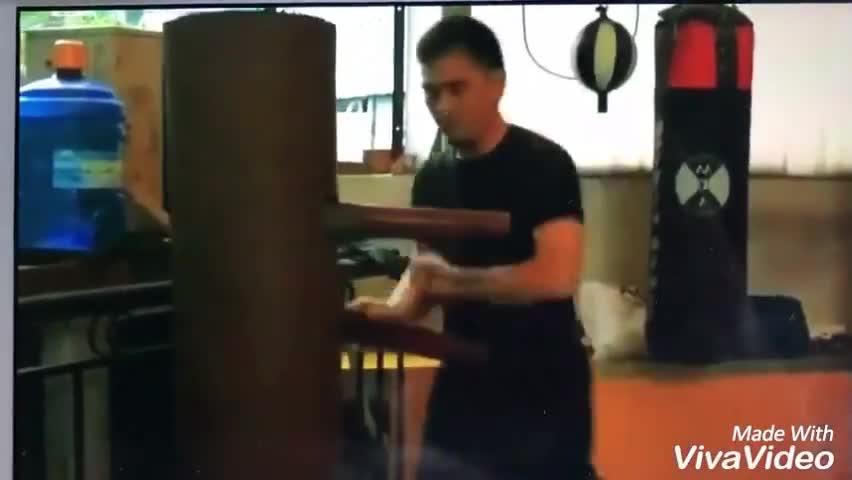 """Võ sư Phạm Anh Dũng """"giao tay"""" cùng Leo Au Yeung"""