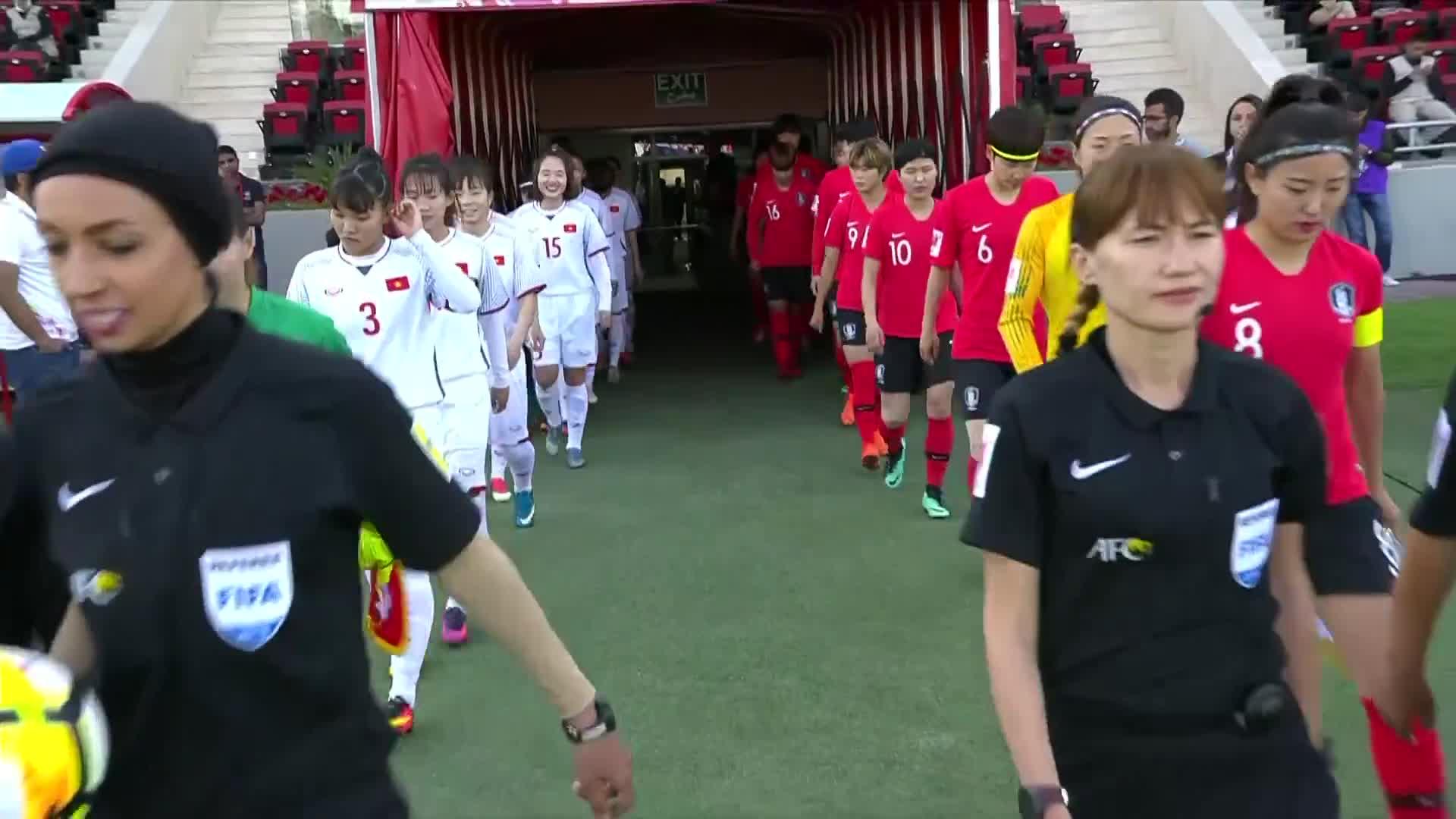 Vòng bảng AFC Cup 2018: Hàn Quốc 4-0 Việt Nam