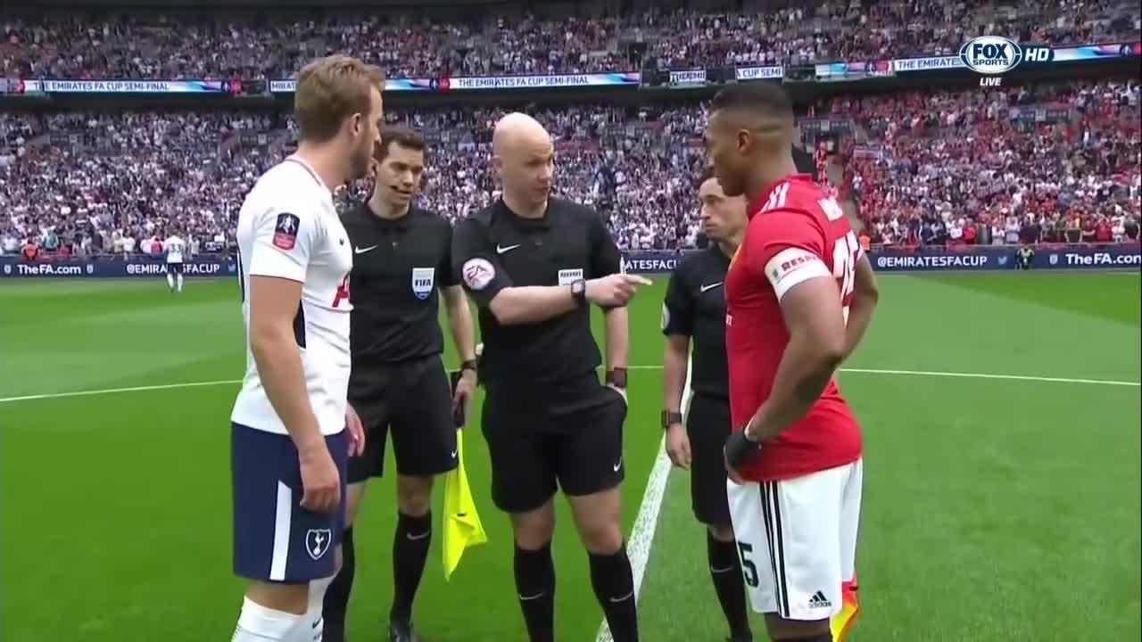 Bán kết FA Cup: Tottenham 1-2 Man United
