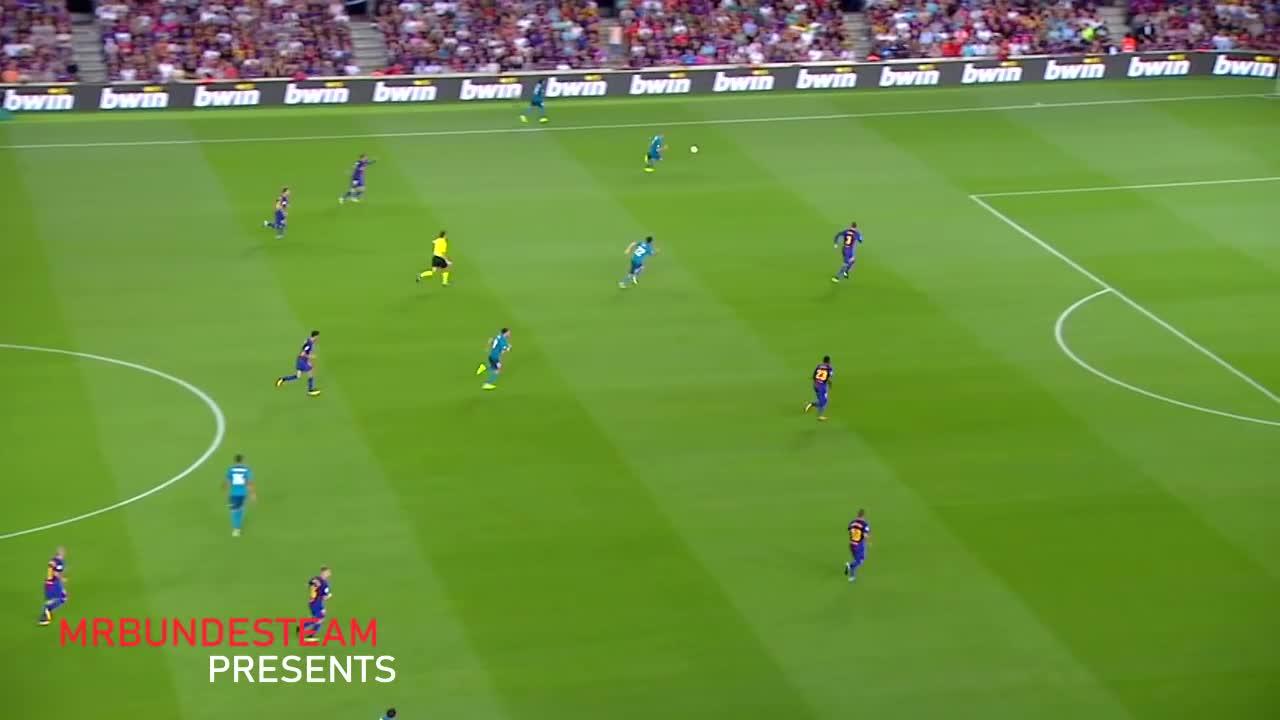 20 pha bóng xuất thần của Benzema mùa bóng 2017/18