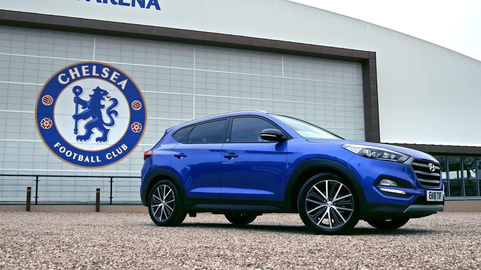 Clip buổi chụp ảnh quảng cáo cho Hyundai của các cầu thủ Chelsea