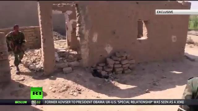 Quân đội Syria tiến công giải phóng thành phố bị IS chiếm đóng tại Deir Ezzor. Nguồn: RT