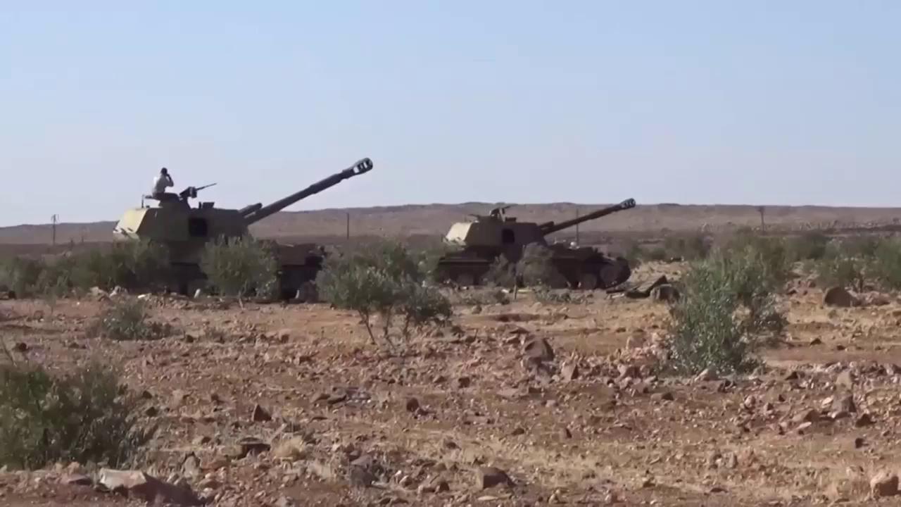 Quân đội Syria tái chiếm làng Qasr Ali gần trục Idlib. Nguồn: Almasdar News