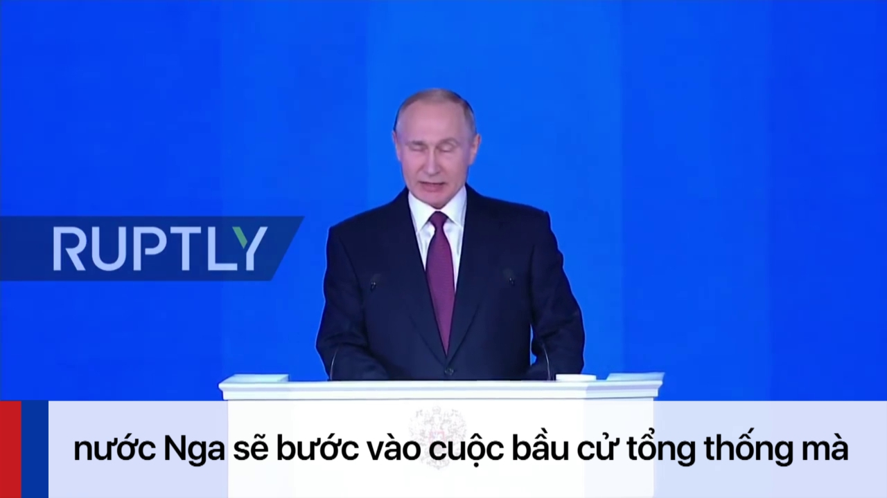 Những phát ngôn hùng hồn nhất trong Thông điệp Liên bang 2018 của ông Putin