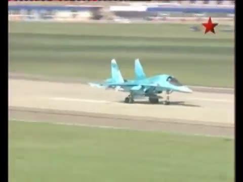 Sức mạnh máy bay ném bom Su-34